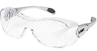 Crews Law® OTG - Over-the-glass frame, Clear Anti-Fog, Scratch Resistant Lens (OG112AF)