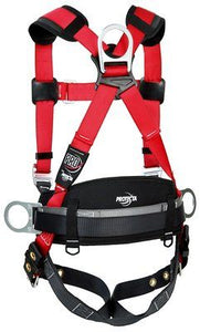 3M PROTECTA PRO Construction Style Positioning Harness 1191210, X-Large