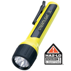 3C ProPolymer Xenon, Safety-Rated Alkaline Battery Powered Flashlight, Streamlight