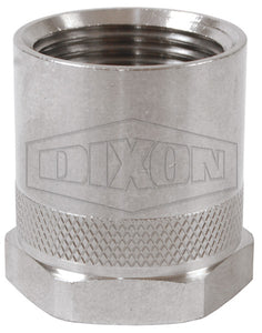 "Dixon 5011212SS Rigid Female 3/4"" GHT x Female NPT Adapter, Stainless Steel"