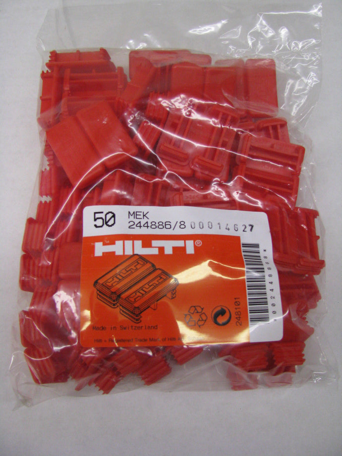 Hilti Strut End Cap MEK RED, 50 pack, 244886