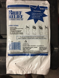 Brief Relief Disposable Urinal Bag (BR608)