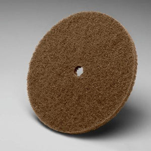 "3M Scotch-Brite 4""x 3/8"" Cut and Polish Disc, 17904"