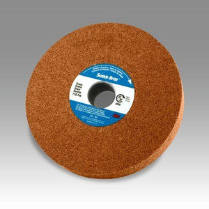 "3M Scotch-Brite Cut and Polish Wheel, 8"" x 1/2"" x 3"" Core, 7A CRS"
