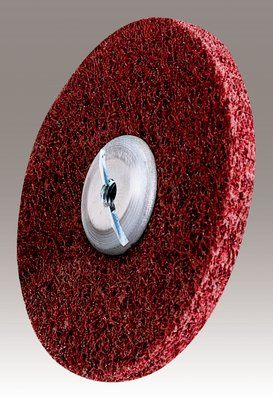 3M Scotch-Brite Metal Finishing Unitized Wheel, 6