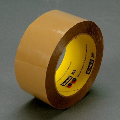 3M Scotch Box Sealing Tape 355 Tan, 48mm x 50m