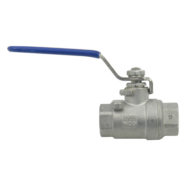 DIXON Stainless Steel Ball Valve Full Port, 1/4