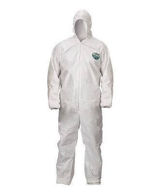 Lakeland ChemMax2 Coverall Zipper with Storm Flap, Attached Hood, Boots, Elastic Wrists (C44414)