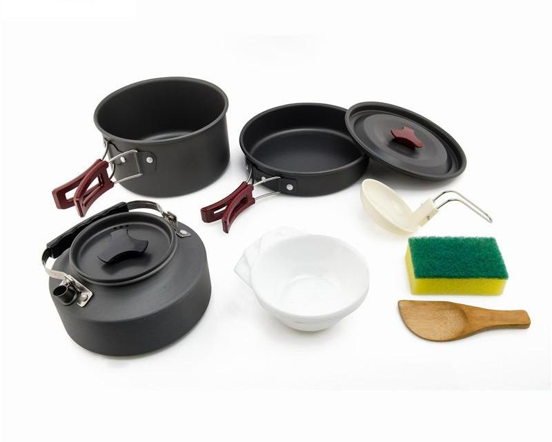 Outdoor Aluminum Cookware Set