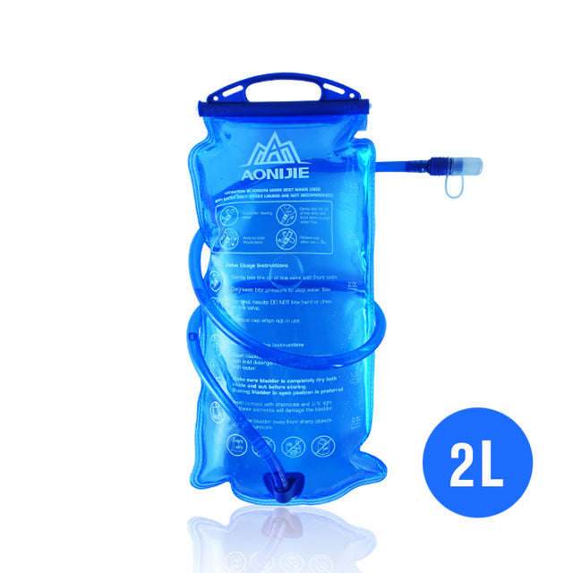 Tactical Water Bag with Detachable Drinking Tube