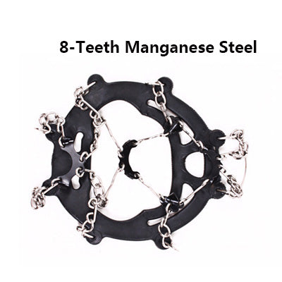8 Teeth Non-Slip Ice Crampons