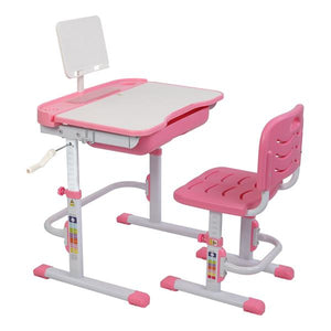 80cm Children's Learning Table And Chair Pink