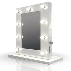 Hollywood Lighted Makeup Vanity Mirror With LED Lights - White