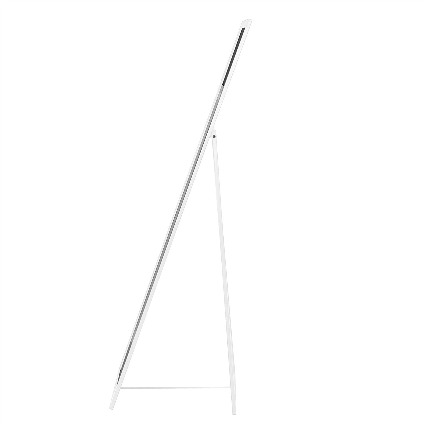 Metal Framed Free Standing Full Length Mirror - White ⚪️