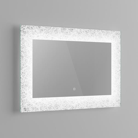 LED Bathroom Mirror Light Sensor and Demister - 90 x 60 cms
