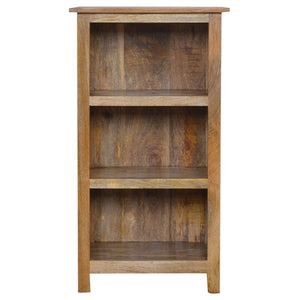 Solid Wood Bookcase with 3 Shelves