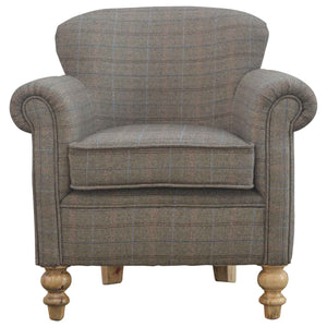 Multi-Tweed Armchair
