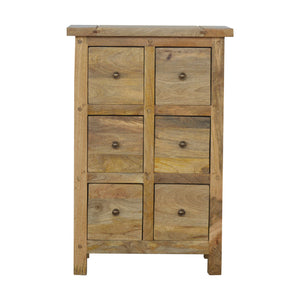 Country Style 6 Drawer Cabinet