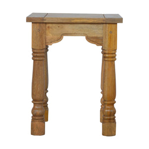 Country Style Petite End Table