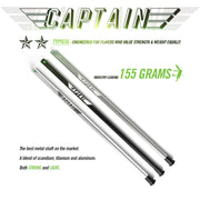Captain Metal Lacrosse Shaft
