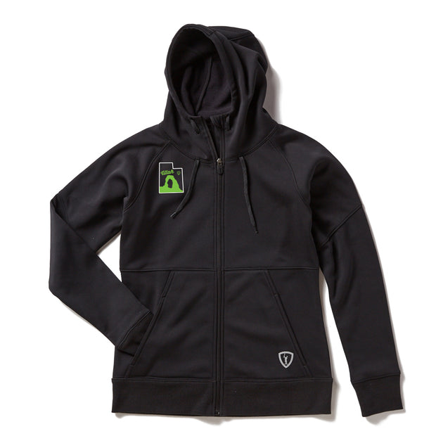 Adrenaline Women's Excel Full-Zip Performance Hoodie - Utah