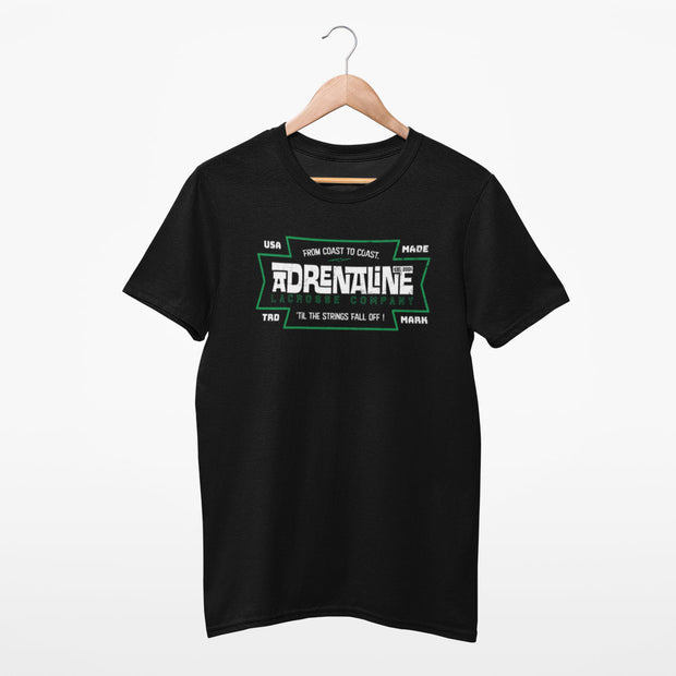Adrenaline Lacrosse Tee Shirt - Coast to Coast