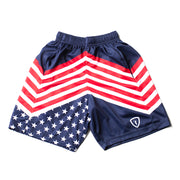 Adrenaline Lacrosse Flood Shorts - Stripes