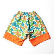 Adrenaline Ventilator Technical Shorts - Orange Camo