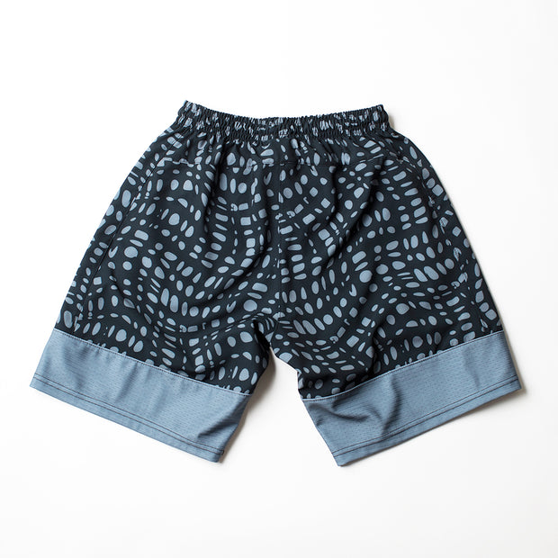 Adrenaline Ventilator Technical Shorts - Black Wave