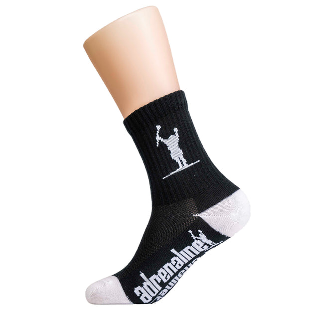 Adrenaline Carlson Youth Meshtop Socks - Black