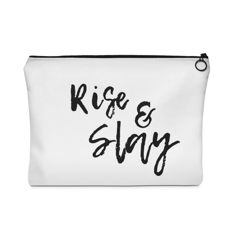 Rise & Slay Carry All Pouch (flat)