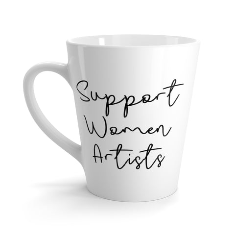 Support Women Artists, Neshama Collective Latte Mug