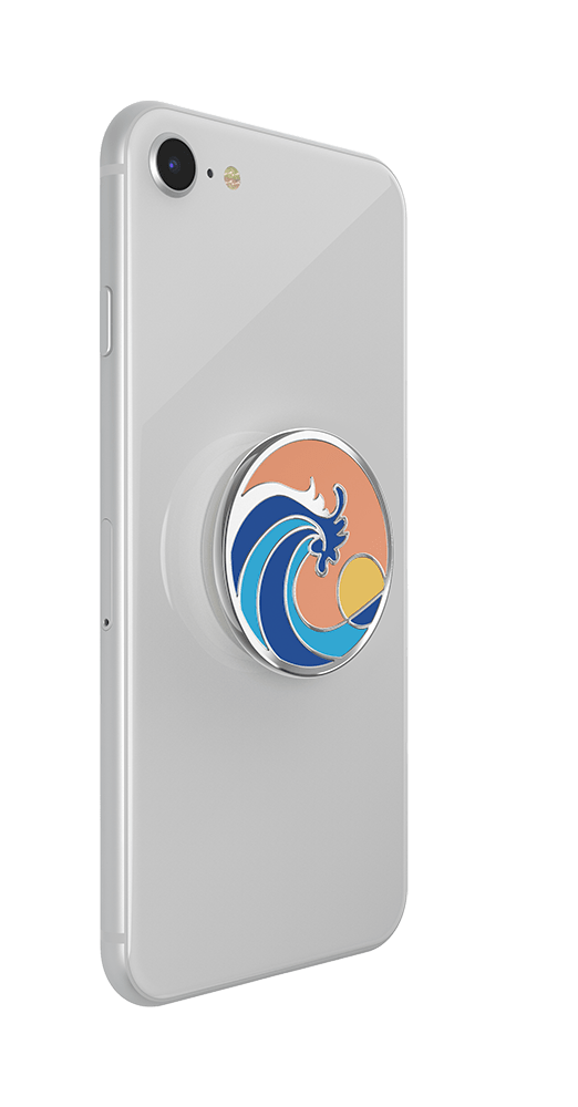 Ride the Wave Enamel, PopSockets