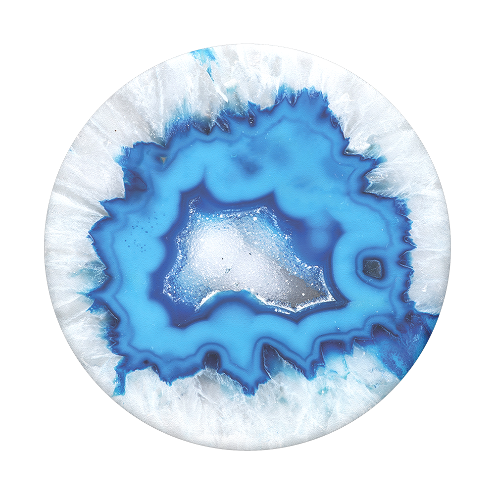 Ice Blue Agate, PopSockets