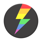 Rainbow Thunder Gloss, PopSockets