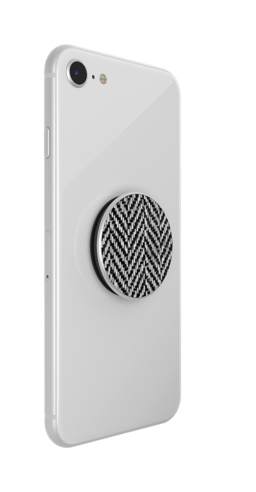 Herringbone Black, PopSockets