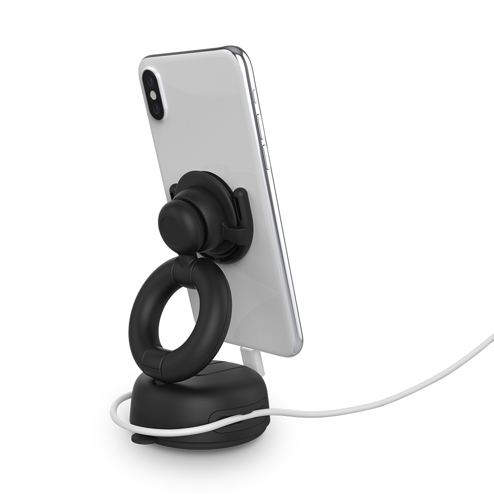 PopMount Car Dash & Windshield Black, PopSockets