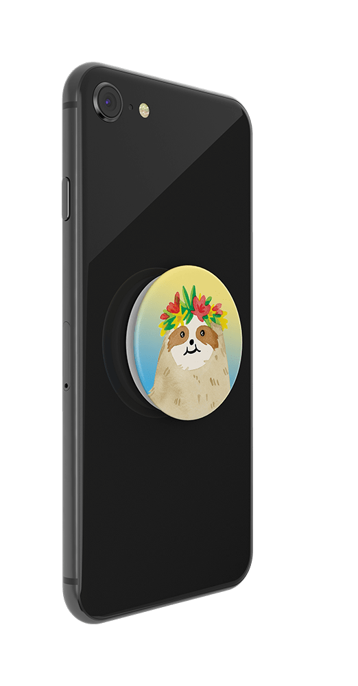 Aloha Sloth Gradient, PopSockets