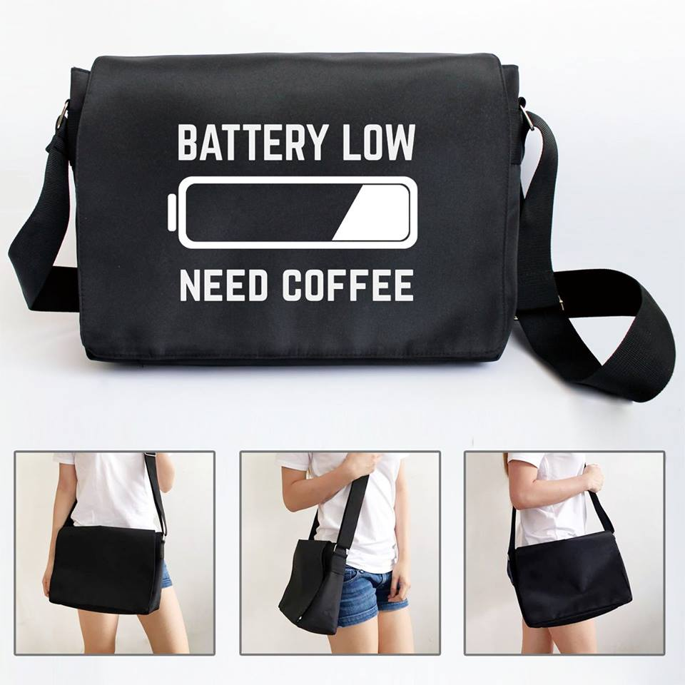Messenger Sling (Coffee)