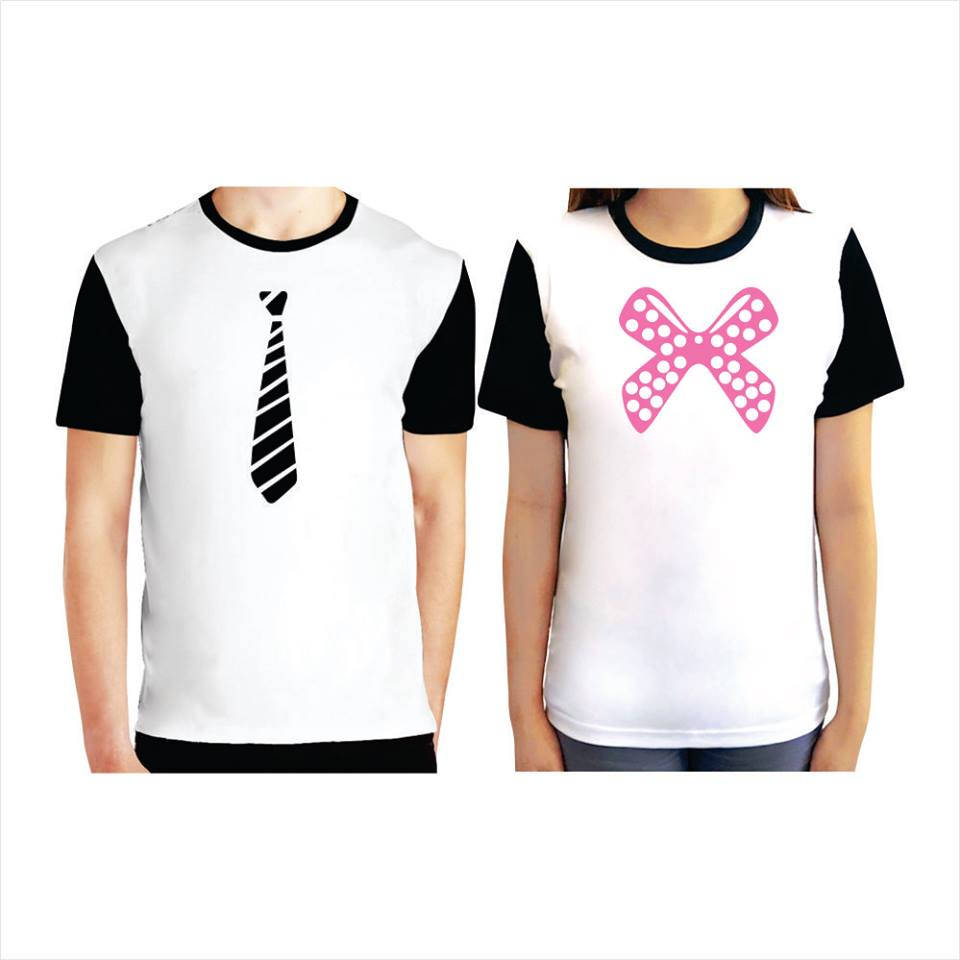 Couple Tee (Tie/Ribbon)