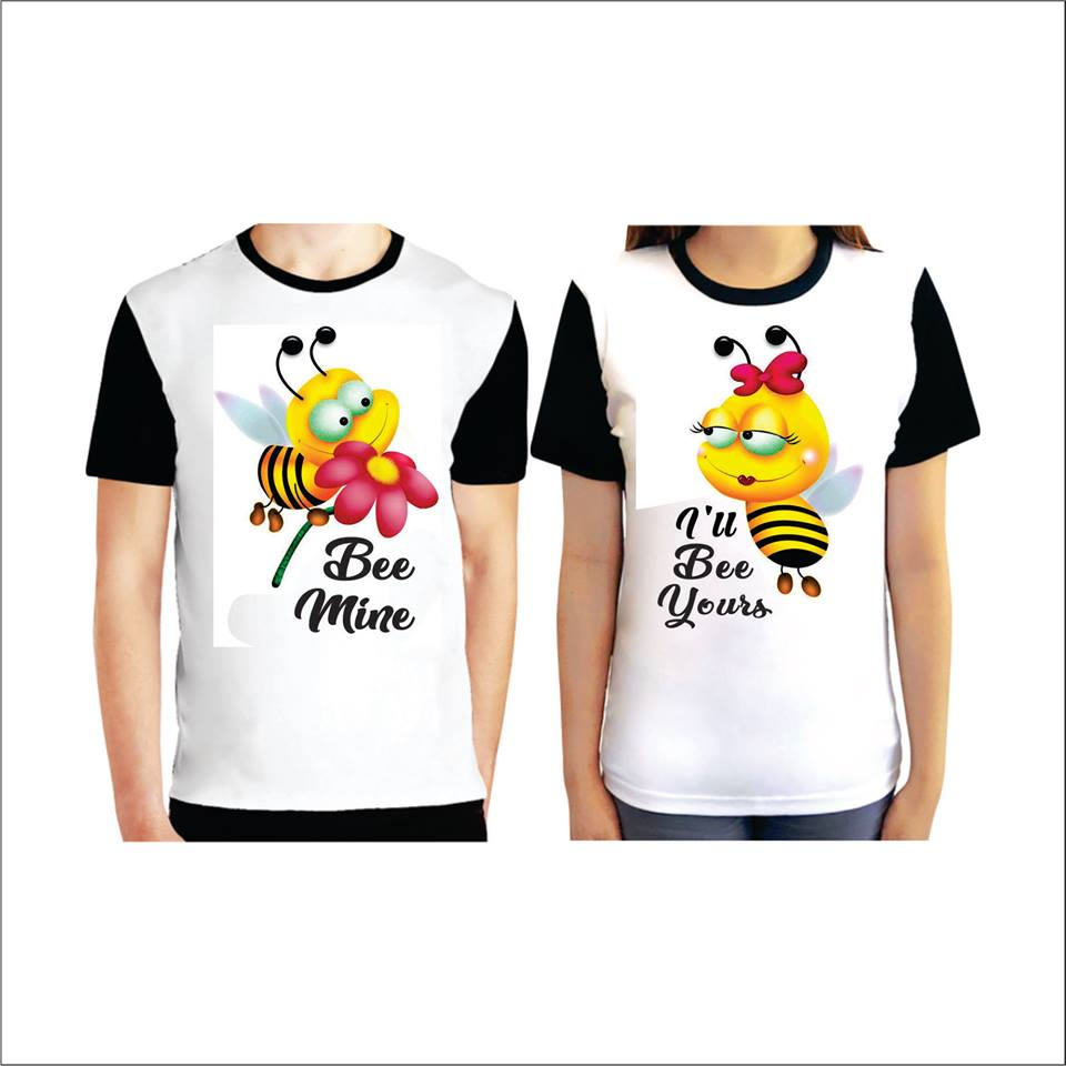Couple Tee (Bees)