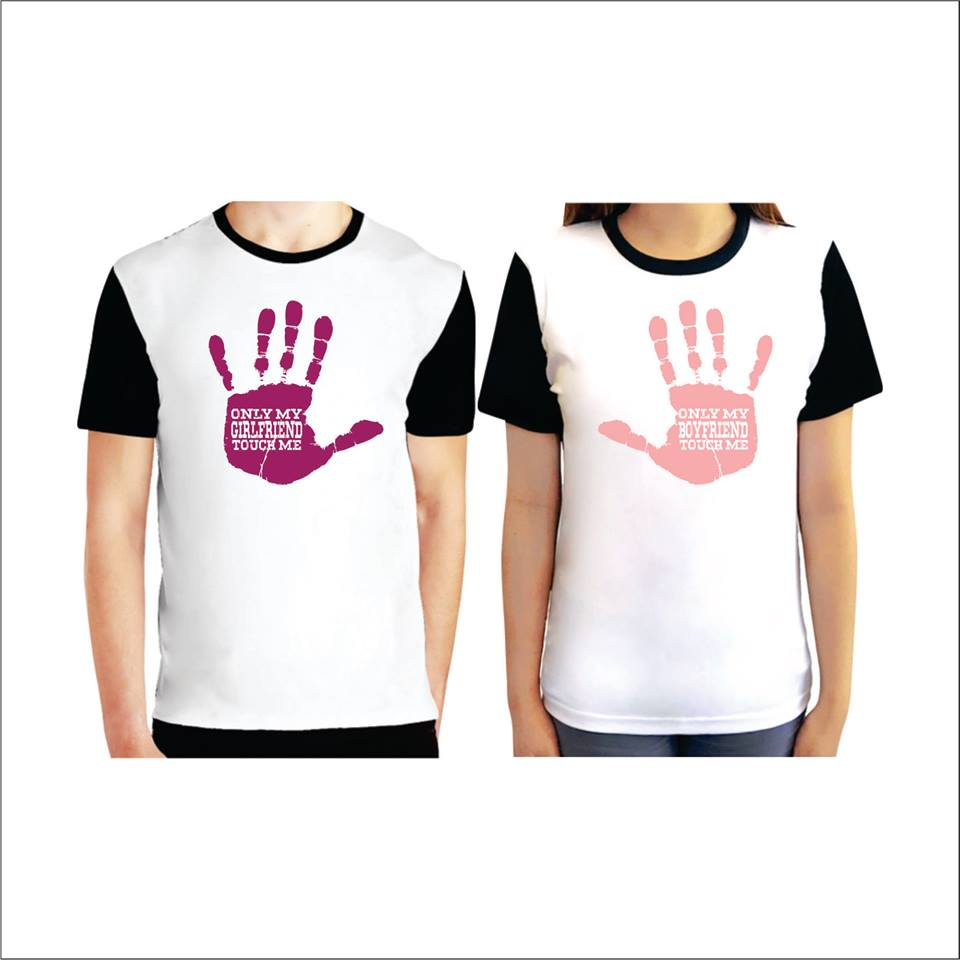 Couple Tee (Hands Off)