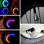 Flashing Wheel Lights For Motor, Bike, Car (1 Pair)