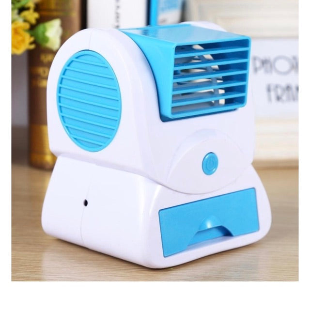 USB Mini Air Conditioning Fan Cooler