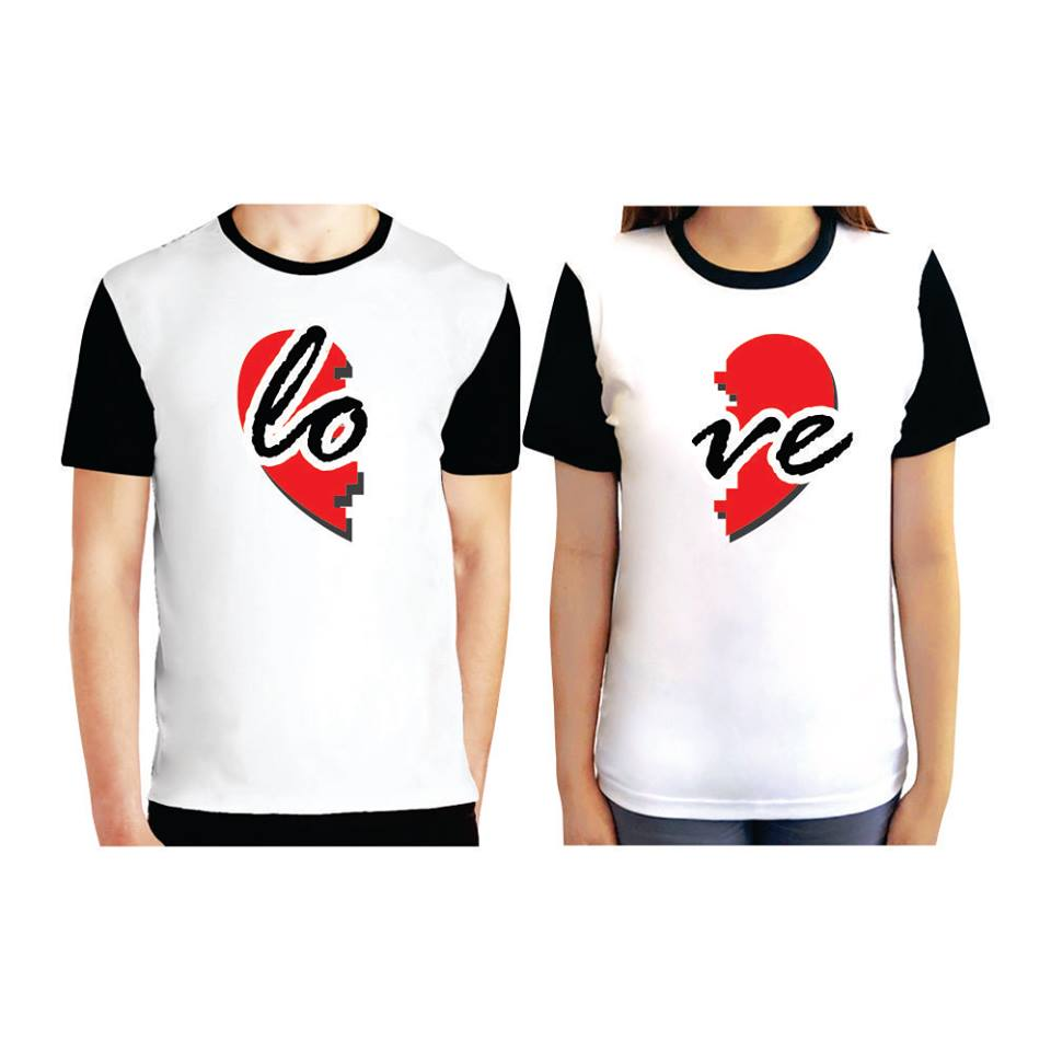 New Matching Couple T-Shirts Set