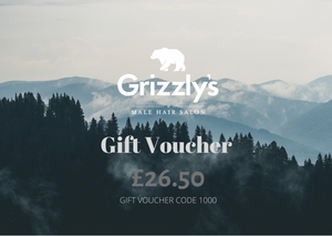 Men's Cut And Finish Gift Voucher