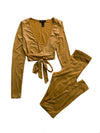 Coco two piece set - Gold