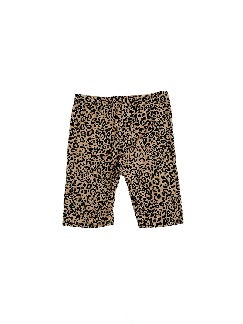 Summer Biker shorts - Leopard
