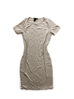 Aurora Dress - Brown/White
