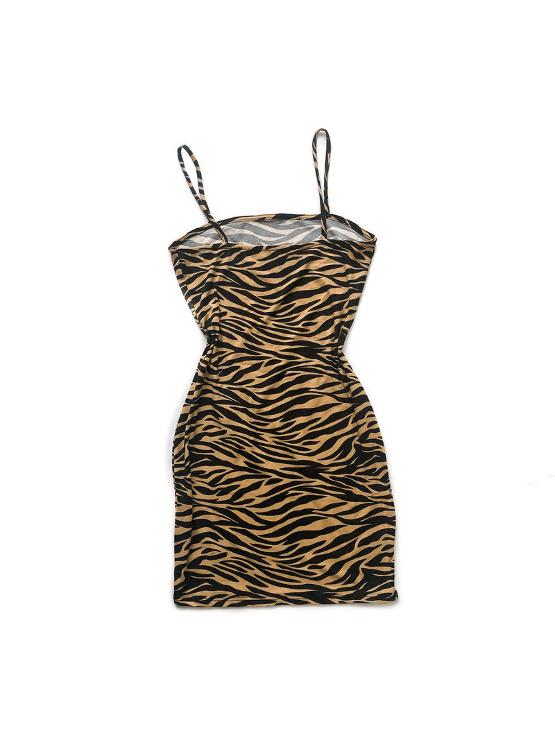 Bianca dress - Zebra